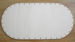 SBPD013 - dno na pedig pøekližka ovál 32x16cm