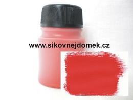 0815 - Akrylová barva MAT 140g èervená VELKÉ BALENÍ