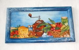 Obrázek kuchynì -mlýnek cca 36, 5x20cm - zvìtšit obrázek