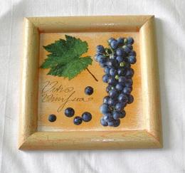 Obrázek hroznové víno cca 20x20cm - zvìtšit obrázek