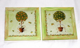Obrázek stromek v kvìtníku - cena za 2ks - zvìtšit obrázek