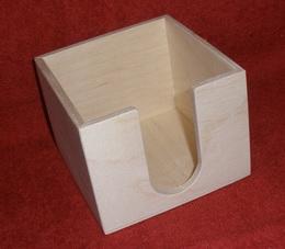 Zásobník na poznámkové bloèky 10,7x10,7x8,3cm