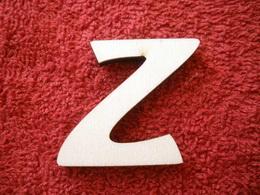-2D výøez písmeno Z v.cca 7cm ozd.