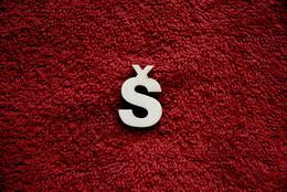 2D výøez písmeno Š v.cca  2,4cm
