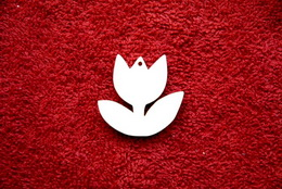 2D výøez pøívìsek tulipán v.3,5x3,7cm