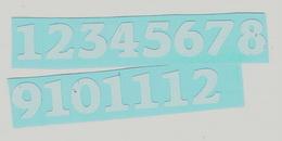 Èísla na hodiny obyè. vel.1,3cm-bílá