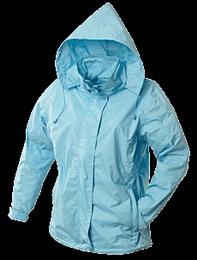 Dámská bunda vìtrovka vel. L sv.modrá