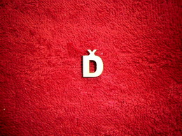 2D výøez písmeno Ï v.cca 1,7cm