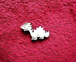 2D výøez dinosaurus è.2- v.2,5x4,2cm