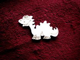2D výøez dinosaurus è.2- v.5,5x8,5cm