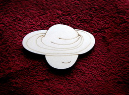 2D výøez planeta - v.5,5x9cm