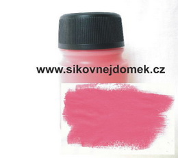 0805 - Akrylová barva MAT 140g sv. rùžová VELKÉ BALENÍ