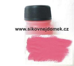 0805 - Akrylová barva MAT 70g sv. rùžová