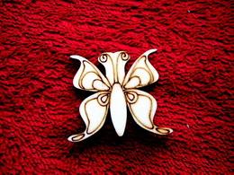2D výøez motýlek è.1 - v.3,8x4,5cm