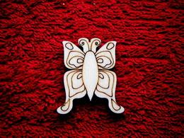 2D výøez motýlek è.2 - v.4x3,5cm