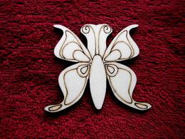 2D výøez motýlek è.1 - v.6x7cm