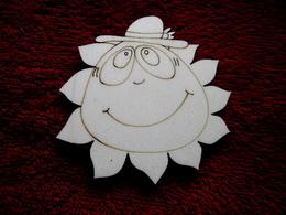 2D výøez sluníèko kluk- pr.cca 9cm