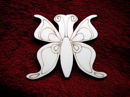 2D výøez motýlek è.1 - v.9x10,5cm