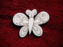 2D výøez motýlek è.3 - v.5,8x7,5cm