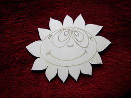 2D výøez sluníèko - v.11x14cm