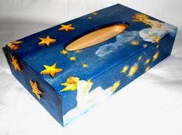 Zásobník na papírové kapesníèky - andílek