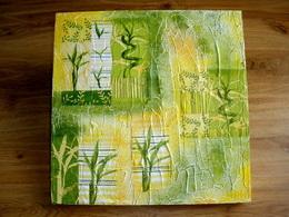 Obrázek bambus PLÁTNO 35X35CM