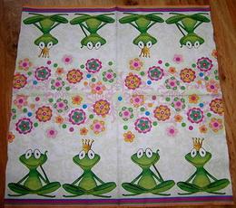DE 068 - ubrousek 33x33 - žabièka + žabák