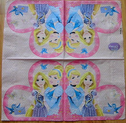 DE 315 - ubrousek 33x33-princezny