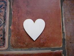 2D výøez srdce è.1 - 4x4cm