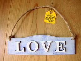 Cedulka LOVE