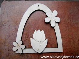 Sestava oblouk tulipán+2 kytièky
