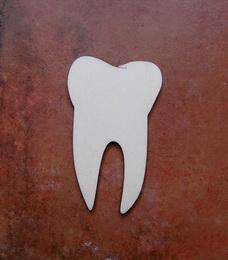 2D výøez zub èistý - 8x5cm
