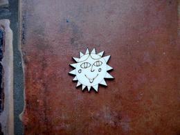 2D výøez Natálèino sluníèko pr. cca 4cm
