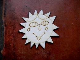 2D výøez Natálèino sluníèko pr. cca 7cm