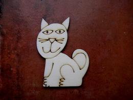 2D výřez Natálčina kočička -v.6,5x5cm - zvětšit obrázek