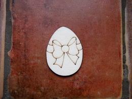 2D výøez vejce+mašle- v.4,5x3,4cm - zvìtšit obrázek