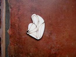 2D výøez bledule se stonkem v.4,8x3,8cm