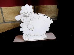 Stojánek na ubrousky oveèka v. cca 12,1x11,7cm