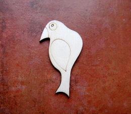 2D výøez ptáèek èistý è.3- cca v.6,6x3,5cm - zvìtšit obrázek