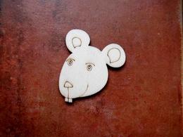 2D výøez na špejli myš-v.5,4x4,6cm