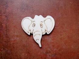 2D výøez na špejli slon è.2-v.5x5,2cm - zvìtšit obrázek