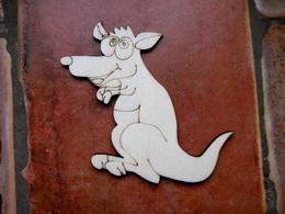 2D výřez klokan v.8,9x12cm - zvětšit obrázek