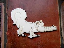 2D výřez krokodýl v. 8,2x12cm - zvětšit obrázek