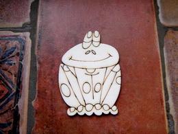 2D výřez žába sedící -v. 9,5x7,3cm - zvětšit obrázek