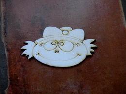 2D výřez na špejli chlapeček podzim-v.4,5x8,5cm - zvětšit obrázek