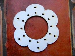 Lapaè snù - kytka è. 1-  v. 10x9,5cm