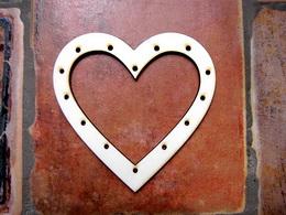 Lapaè snù - srdce v.10,5x10,7cm