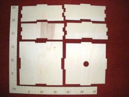 Krabièka velká bez motivu  16x16x4,5cm