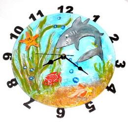 Pøekližkové hodiny - motiv moøe
