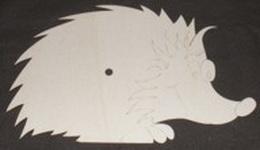 Hodiny ježek bez èísel
